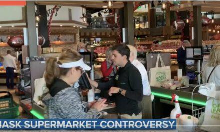 Video toont ongemaskerde klanten en werknemers in supermarkt Florida