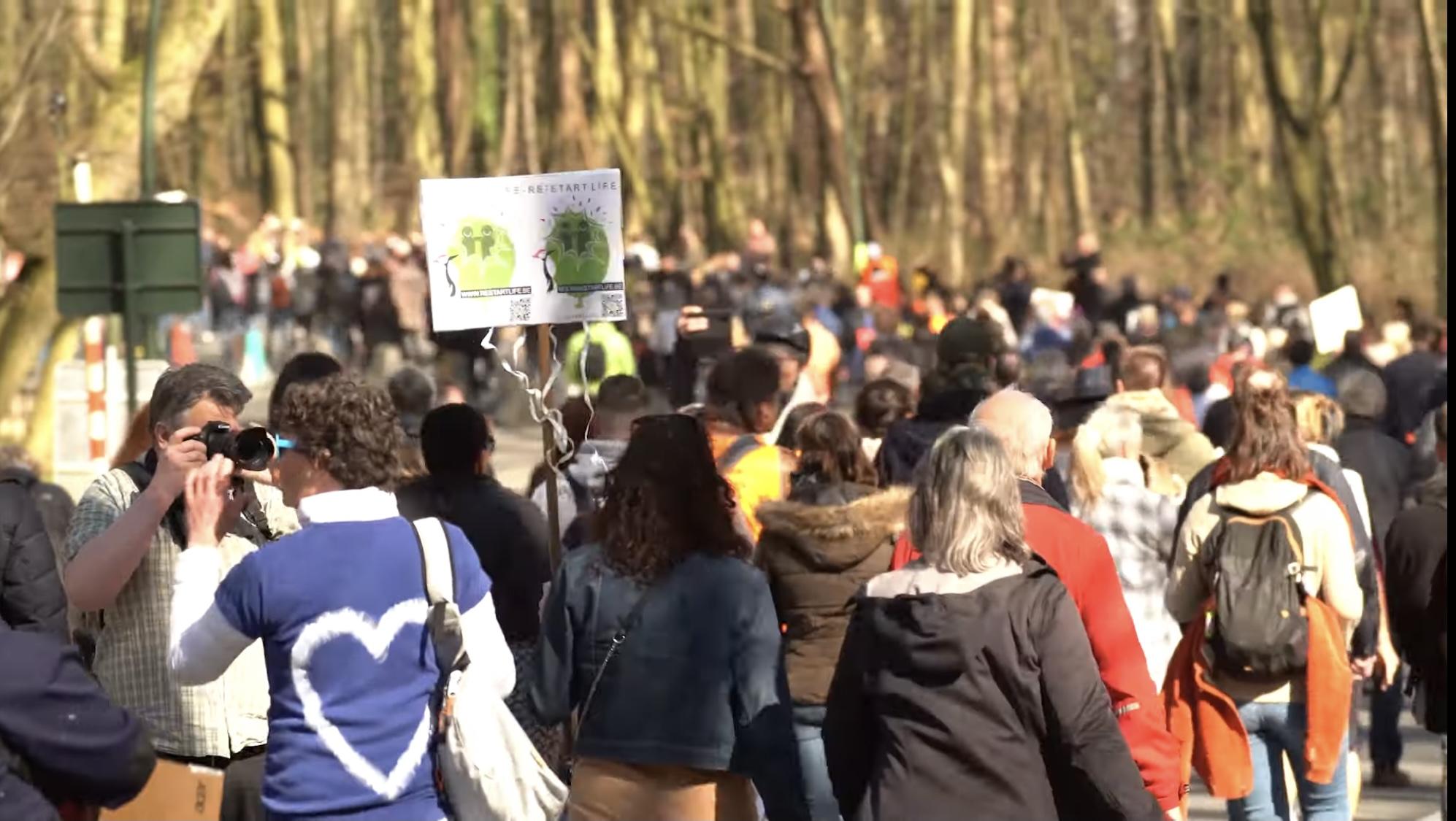 World Wide Demonstration for freedom in Ter Kamerenbos