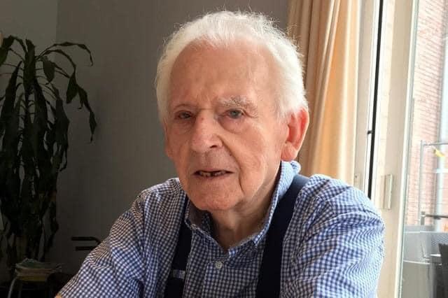 Gedicht van de bijna 90-jarige Roger Lybaert