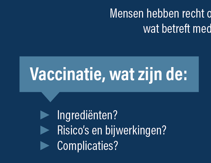 Vaccinatie: Flyer