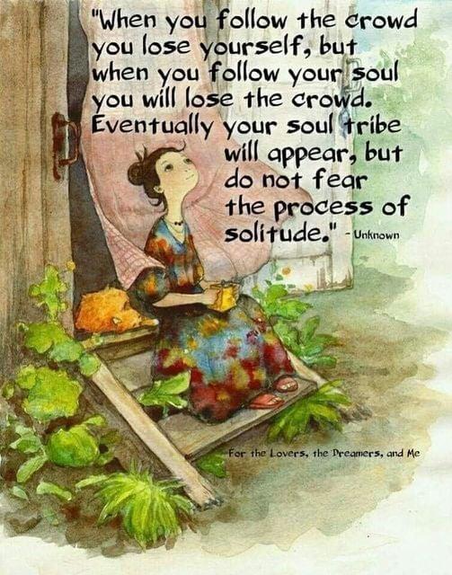 Wanneer je je ziel volgt…