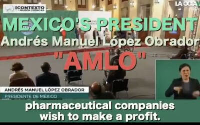 Mexicaanse president laat zich niet gijzelen door Big Pharma en weigert kinderen te vaccineren