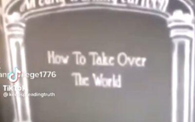 Beschrijft een Cartoon uit 1930 'the great reset'?
