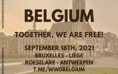 World Wide Rally for Freedom: 18 september